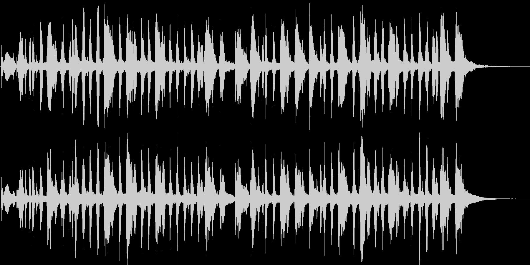ブラス+打楽器=ファンファーレで整列の未再生の波形