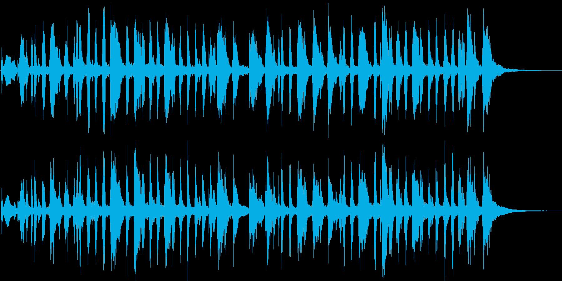 ブラス+打楽器=ファンファーレで整列の再生済みの波形