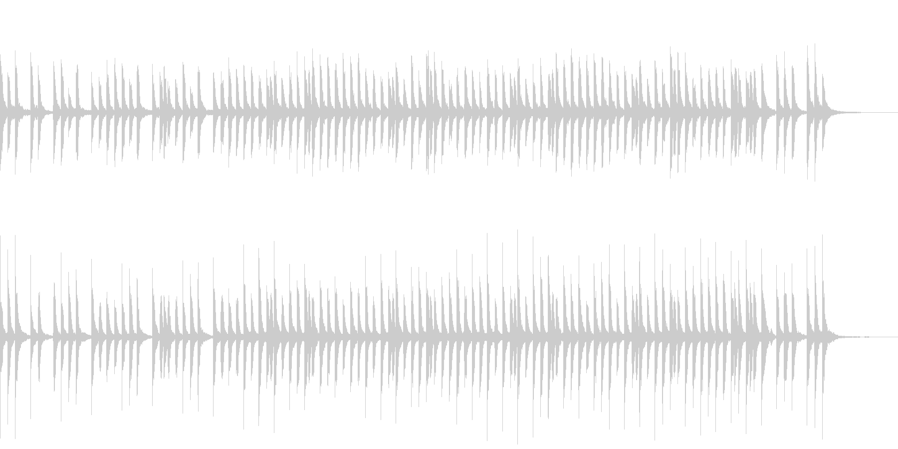 ゆったりカワイイ教育映像向けピアノソロの未再生の波形