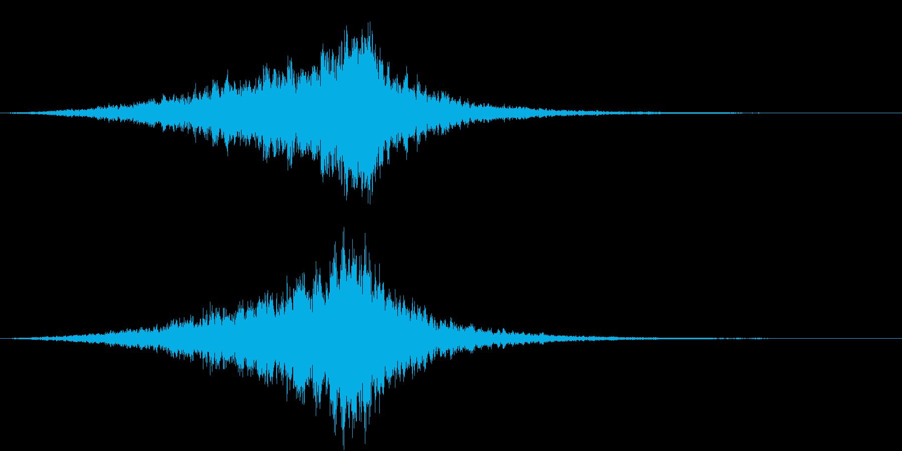 Texture 映画向け空間演出SE 4の再生済みの波形