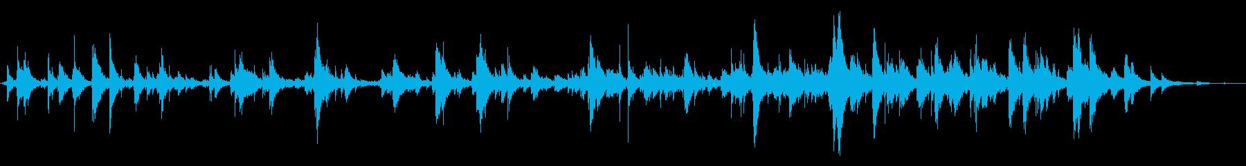 メタルゲート:ガタガタ細いバーの再生済みの波形