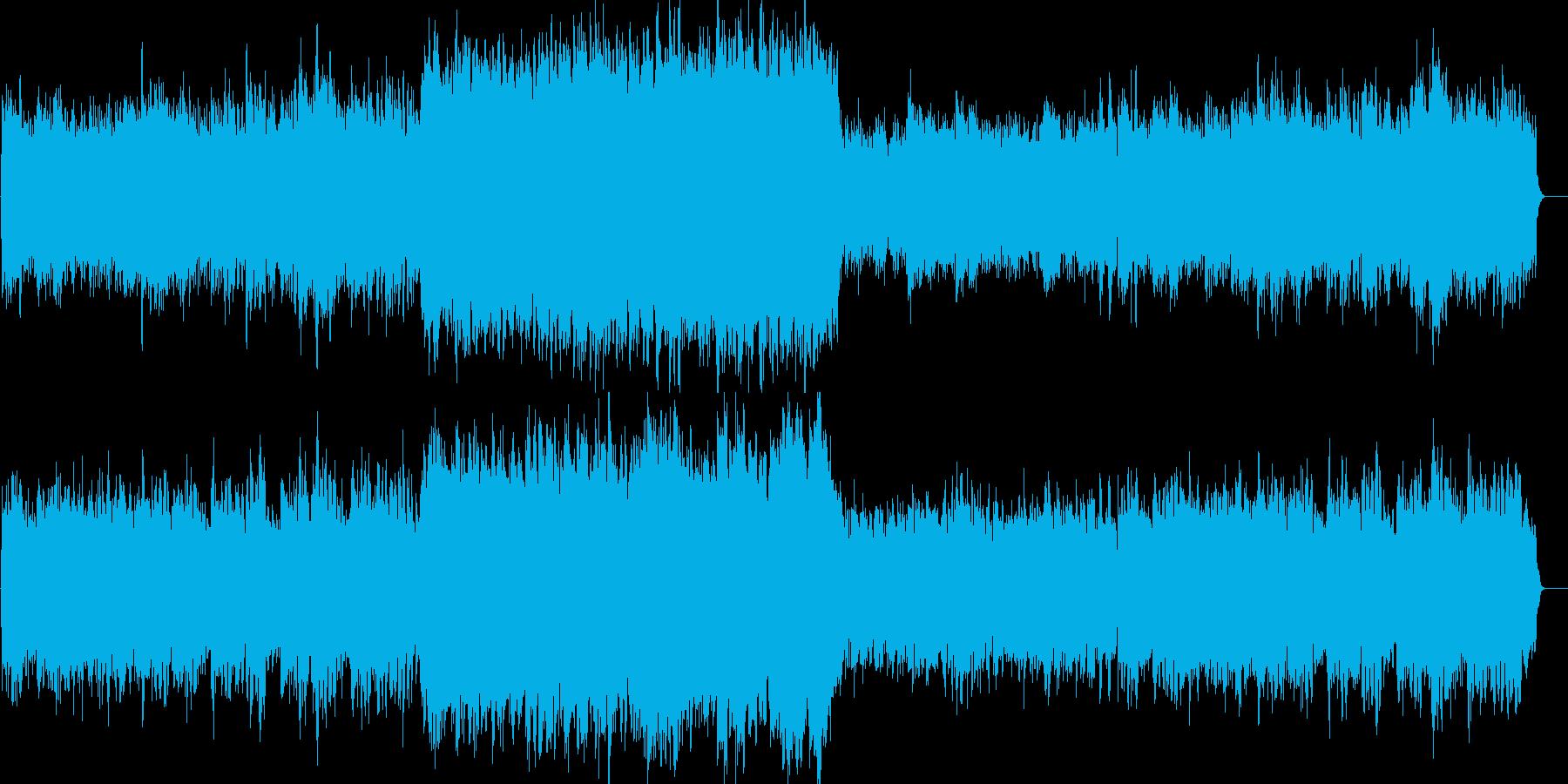 クラシック:ゆったり、哀愁、切ない、皇室の再生済みの波形