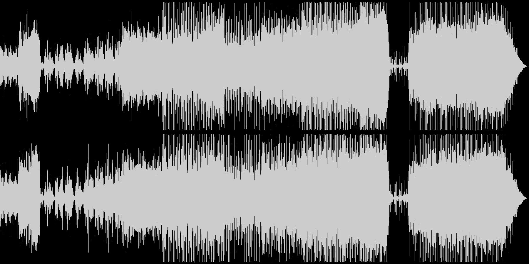 結婚式向けポップスバラード ブライダルの未再生の波形