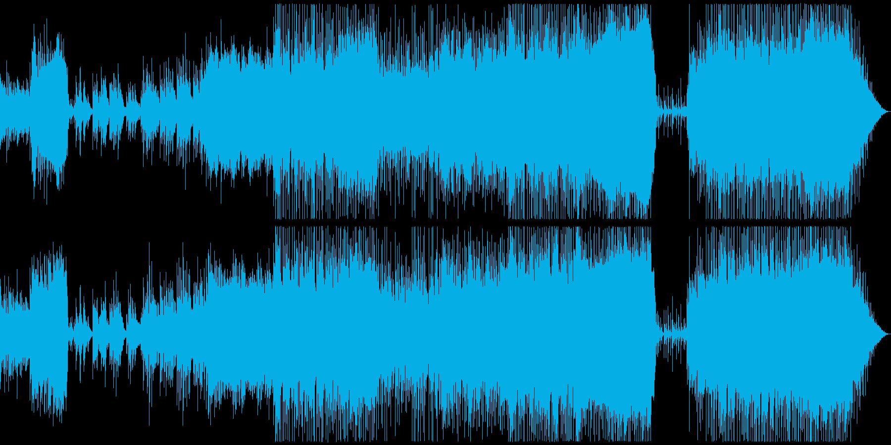 結婚式向けポップスバラード ブライダルの再生済みの波形