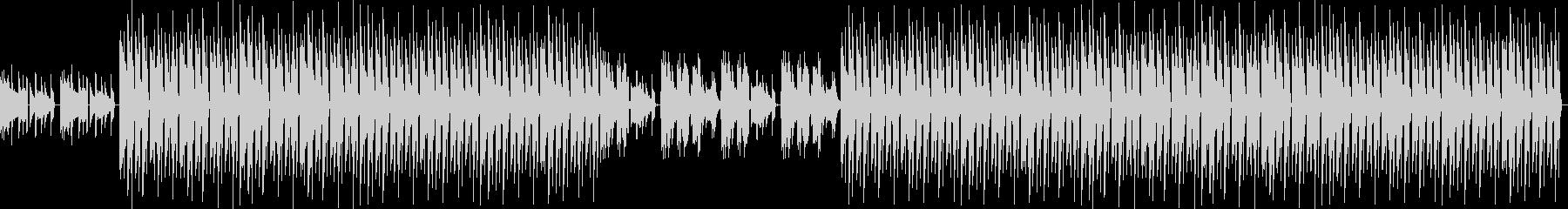 おしゃれ・低音重視・EDM・ベース9の未再生の波形