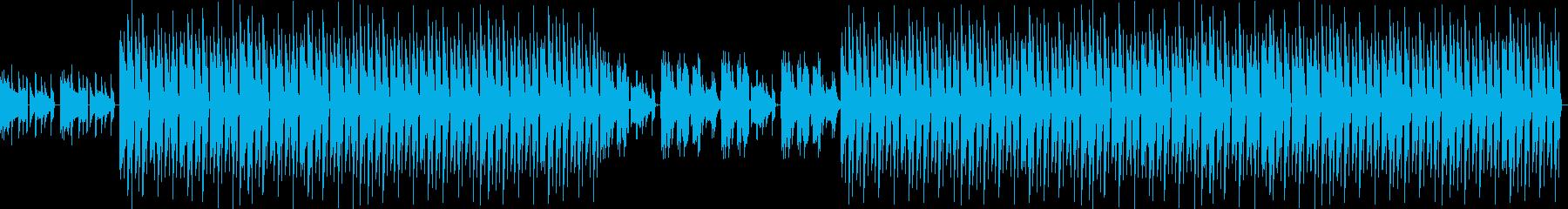 おしゃれ・低音重視・EDM・ベース9の再生済みの波形