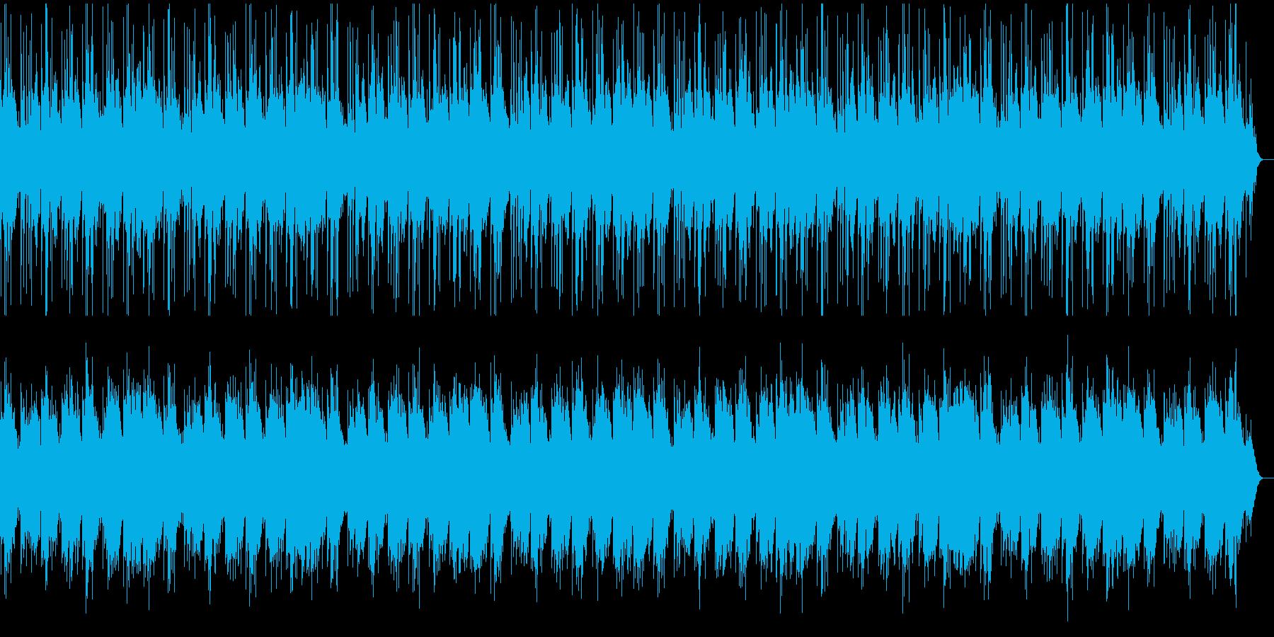華やかで心地よいピアノメロディーの再生済みの波形