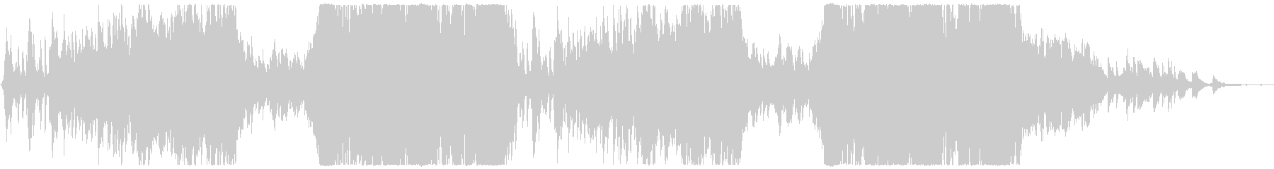 Positive grand pop orchestra's unreproduced waveform