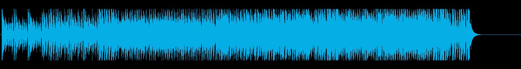 いきいきハツラツとした楽しいポップの再生済みの波形