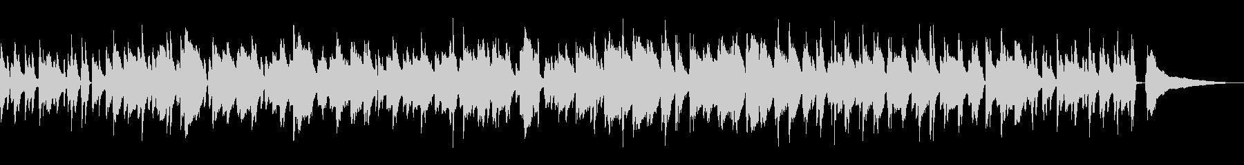 心地よいラウンジ風ボサノバ/ピアノトリオの未再生の波形