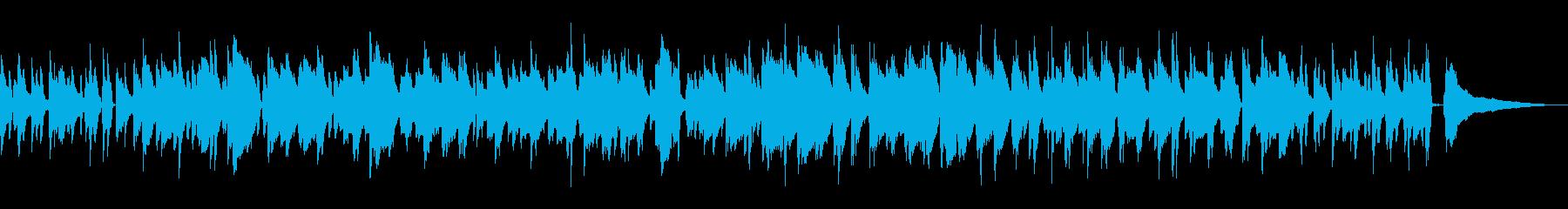 心地よいラウンジ風ボサノバ/ピアノトリオの再生済みの波形