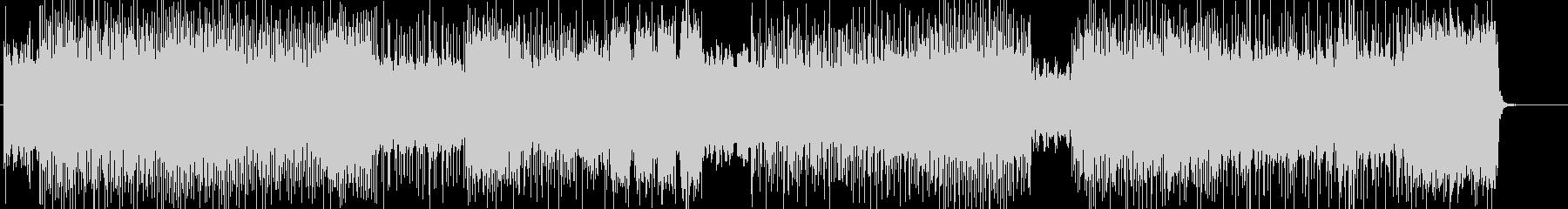 不気味なハードロック系の曲 BGM262の未再生の波形