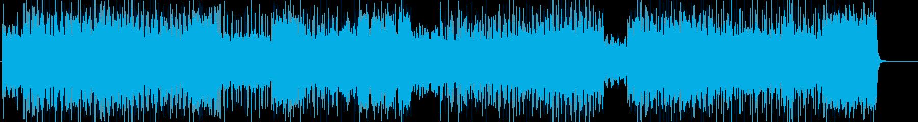 不気味なハードロック系の曲 BGM262の再生済みの波形