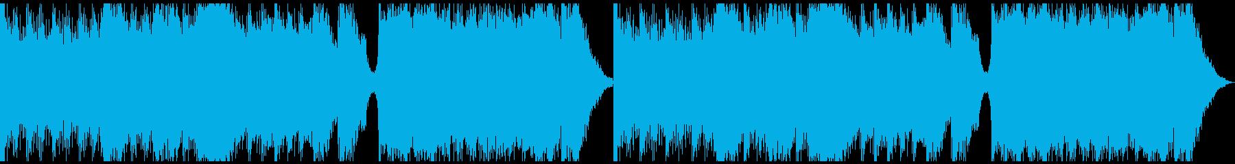 ピアノ&ホラーシネマティックの再生済みの波形
