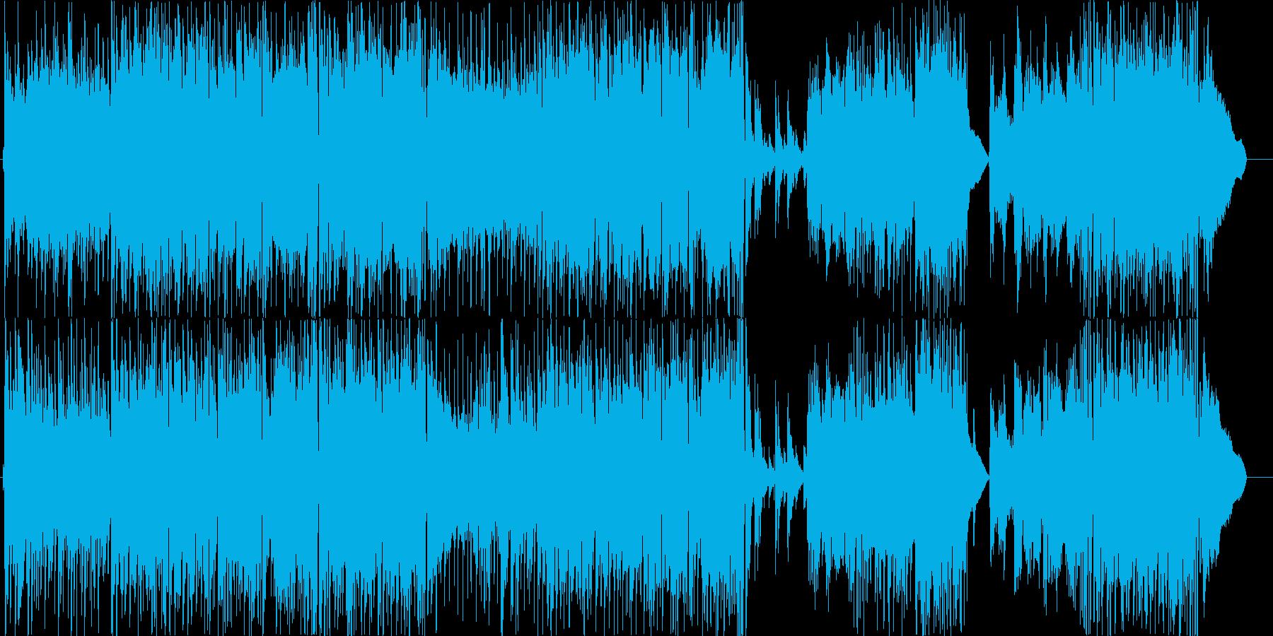 チェロをフューチャーした爽やかな楽曲。の再生済みの波形