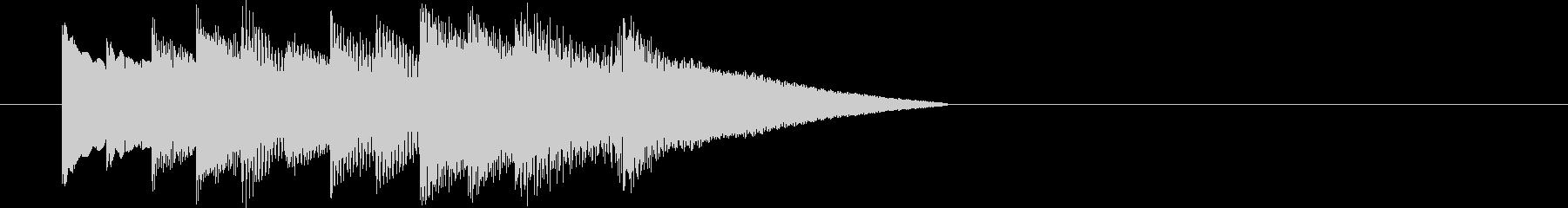 オルゴールによる場面転換・アイキャッチの未再生の波形