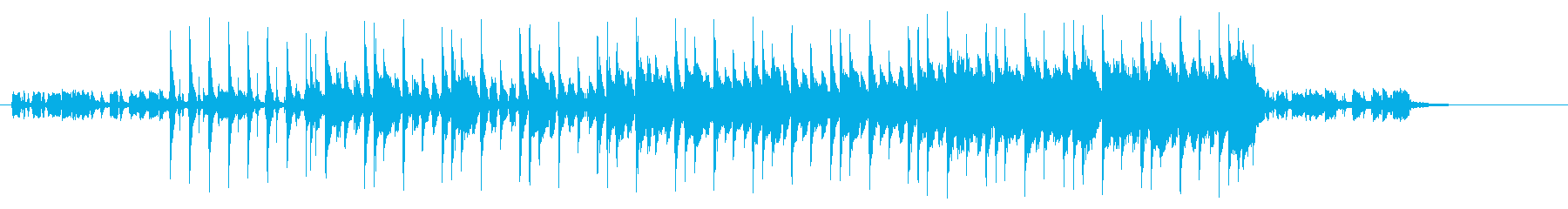 【エレキギター】優しい雰囲気のポップスの再生済みの波形