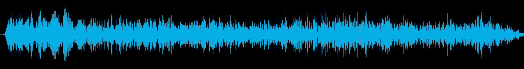 ショートドラマティックシンセドロー...の再生済みの波形