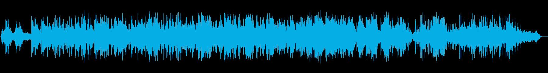 美しく癒しのピアノサウンドの再生済みの波形