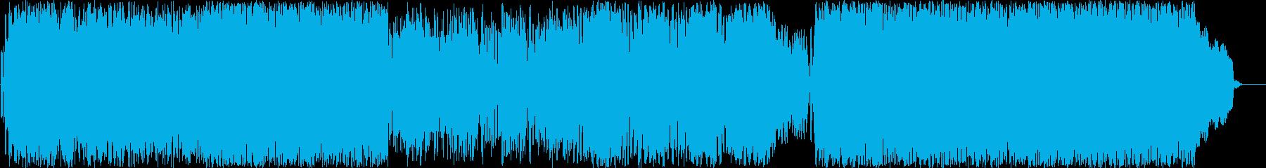 【変拍子】メルヘン、大団円、クリスマスの再生済みの波形