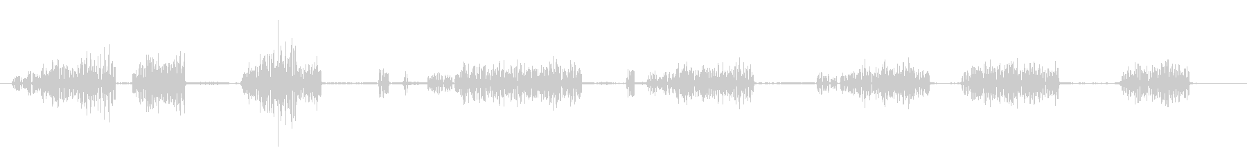 ヴェルデシロ-ガファロの未再生の波形