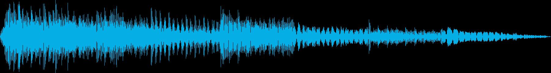 AMGアナログFX13の再生済みの波形