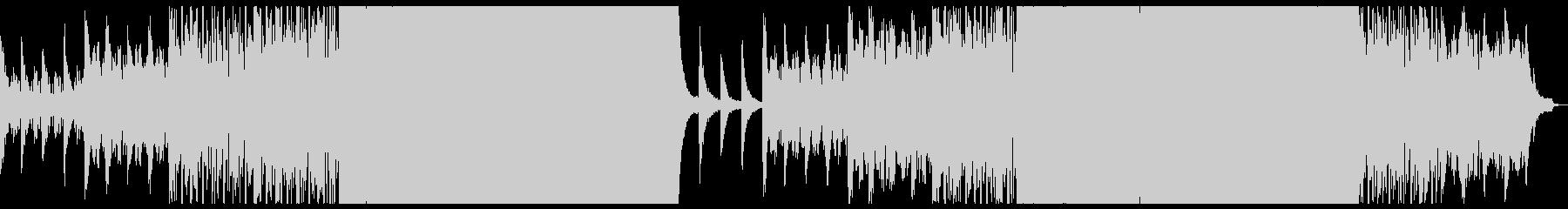 切ないシネマティックエレクトロニカ。の未再生の波形