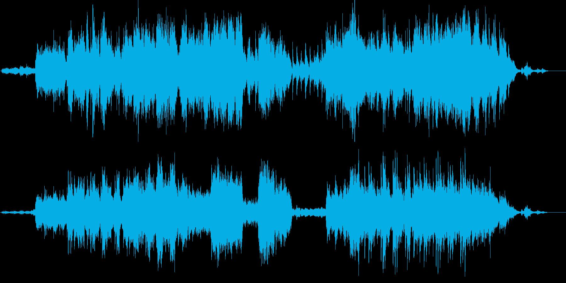 和を感じるクラシカル曲/バイオリン生演奏の再生済みの波形