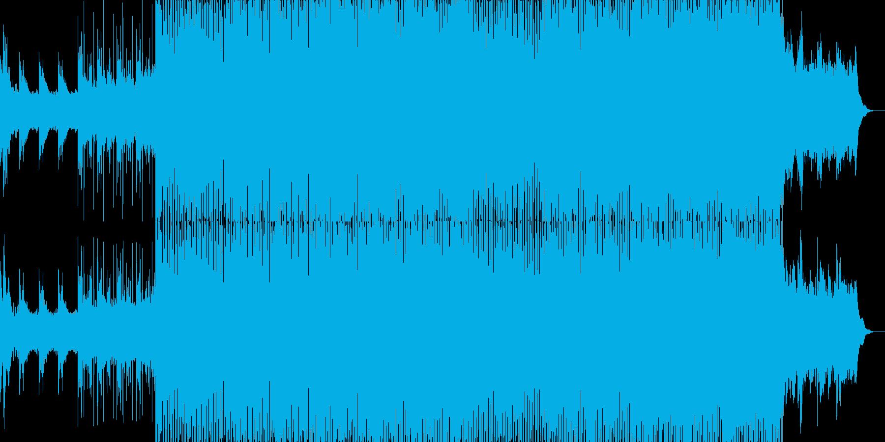EDMクラブ系ダンスミュージック-32の再生済みの波形