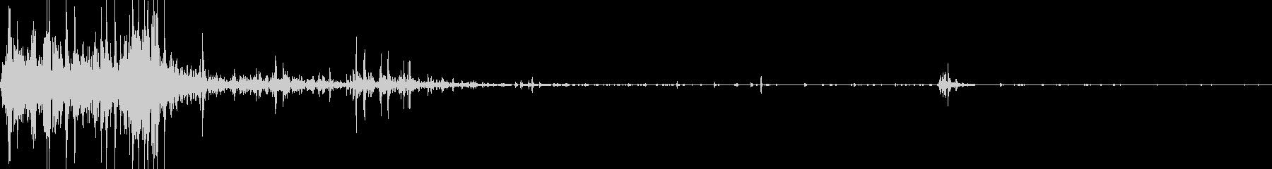 【YouTube】【物音】ジャリッ・・・の未再生の波形