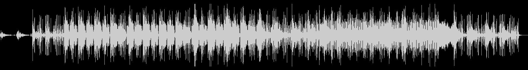 ゆったりチル系ヒップホップの未再生の波形
