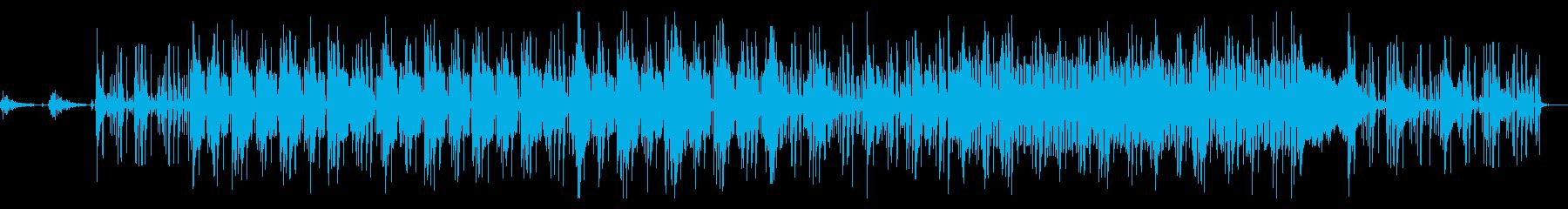 ゆったりチル系ヒップホップの再生済みの波形