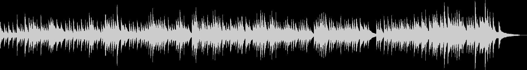 優しいピアノバラード(幻想的・落ち着く)の未再生の波形
