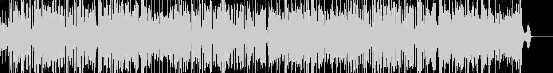 サックスの軽快なフュージョンの未再生の波形