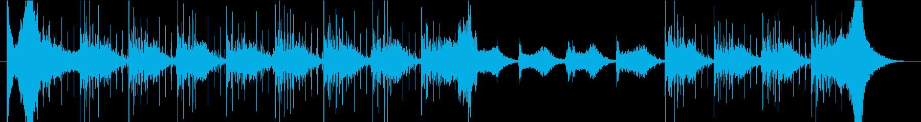 モダン 実験的 アンビエント ドラ...の再生済みの波形