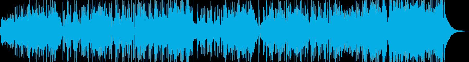 新鮮な空気感の演出・クールなロック Cの再生済みの波形