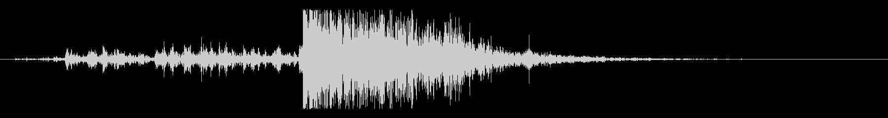 木 ミディアムクラッシュ04の未再生の波形
