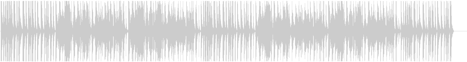 Bright and light Japanese style BGM's unreproduced waveform
