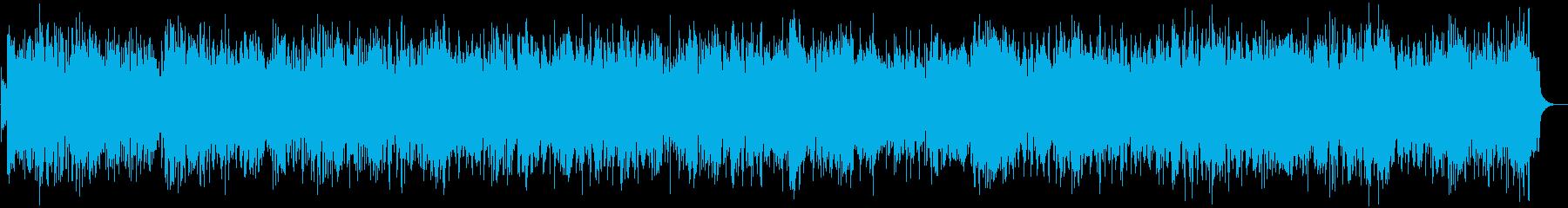 疾走感のあるアイリッシュフィドルバンドの再生済みの波形