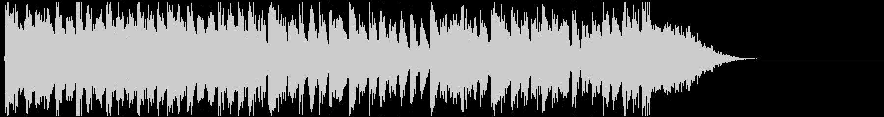 デジタル系ドラムンベース◆15秒ジングルの未再生の波形