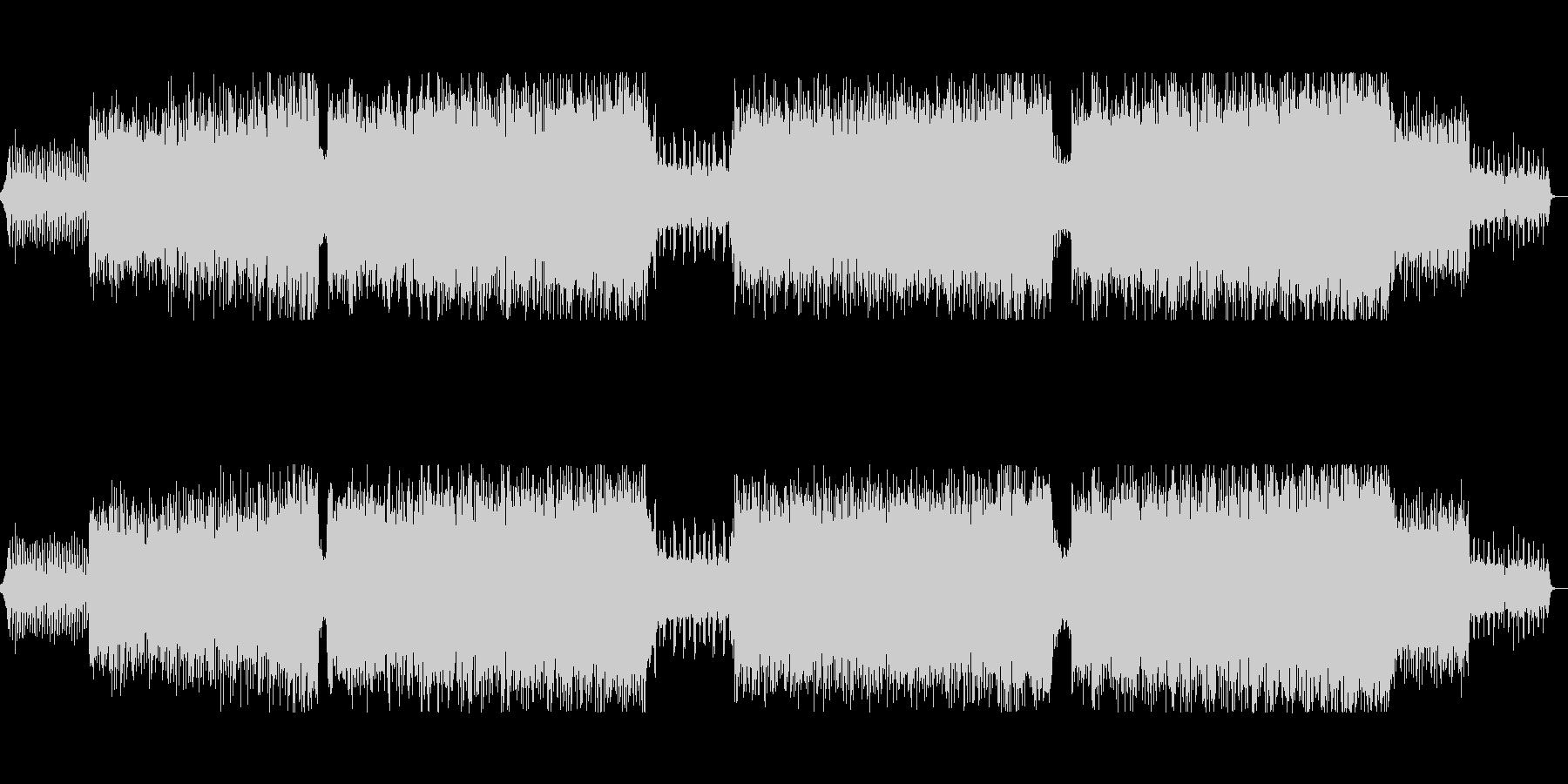 ギターのフレーズが印象的なトランスの未再生の波形