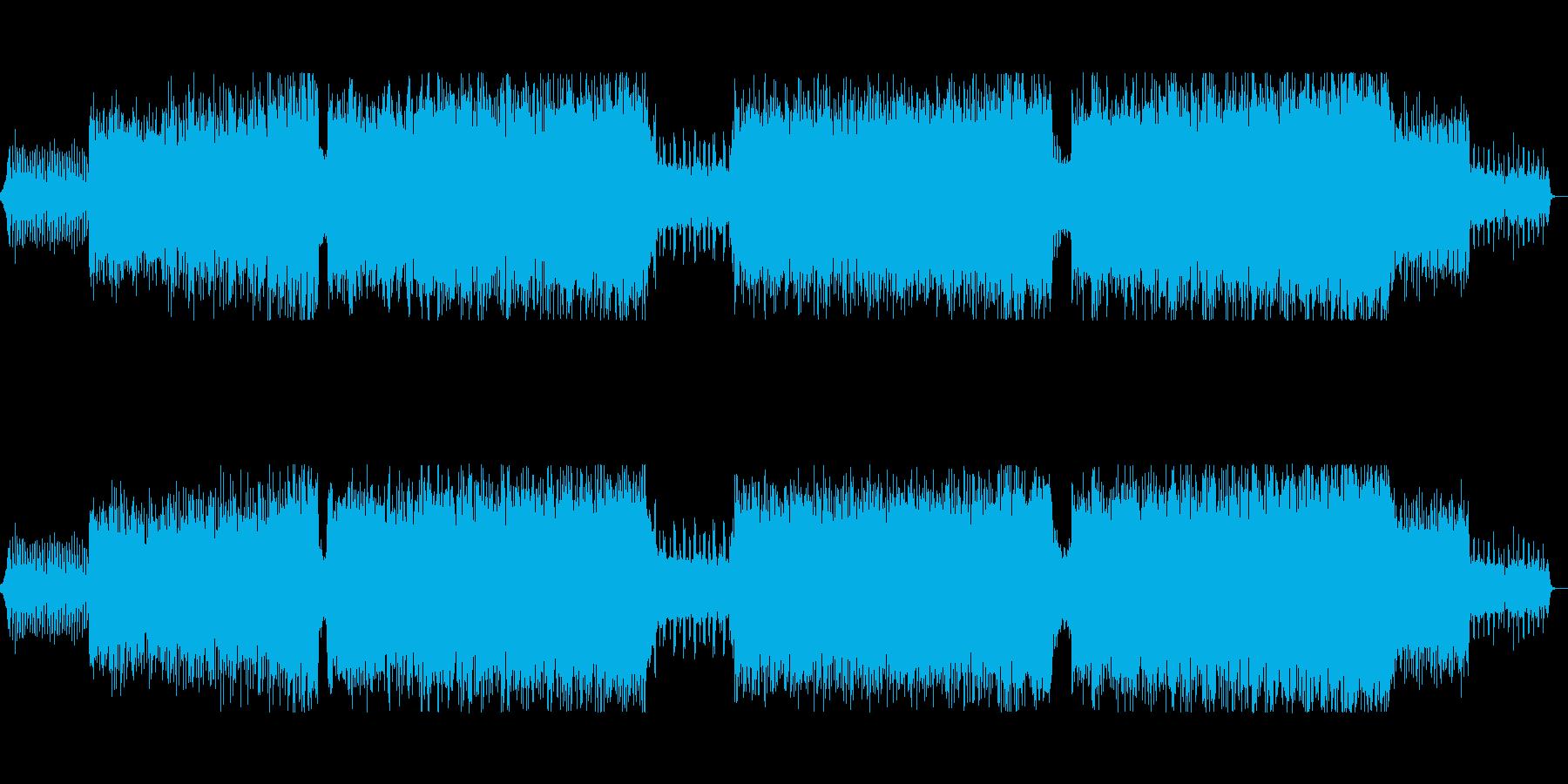 ギターのフレーズが印象的なトランスの再生済みの波形