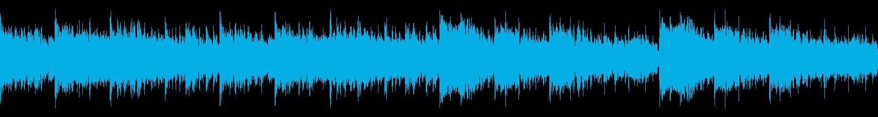 ミッドテンポのブラシドラム、アコー...の再生済みの波形