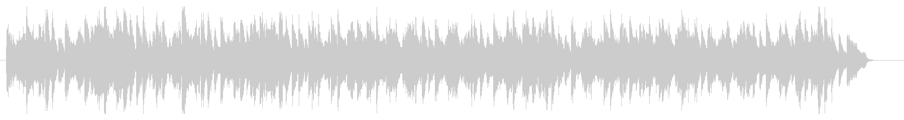 ブラームスのワルツをヴァイオリンでの未再生の波形