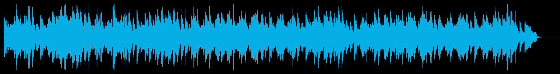 ブラームスのワルツをヴァイオリンでの再生済みの波形