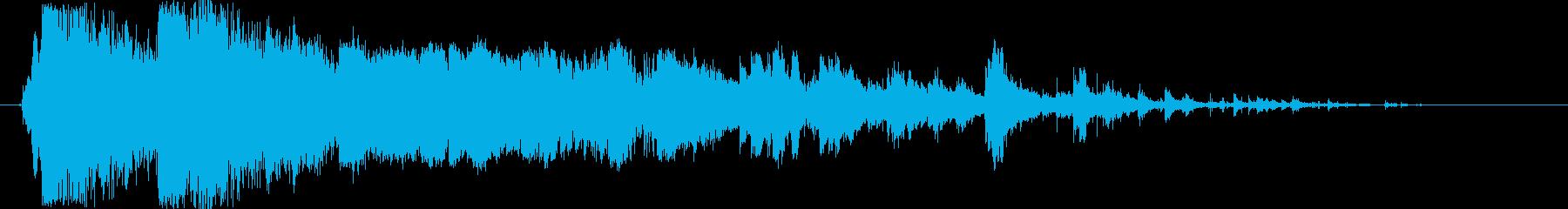 自動クラッシュ:Ext:ダブルイン...の再生済みの波形