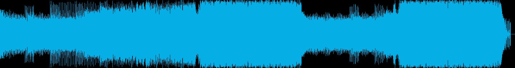 朝の清清しい空気に合うEDMの再生済みの波形