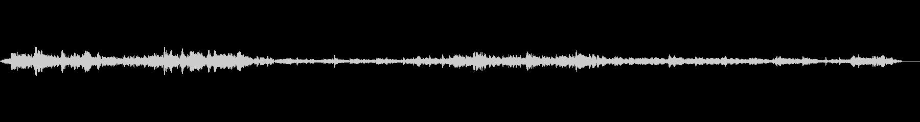 音楽;厚い壁を通り抜ける女性ボーカ...の未再生の波形