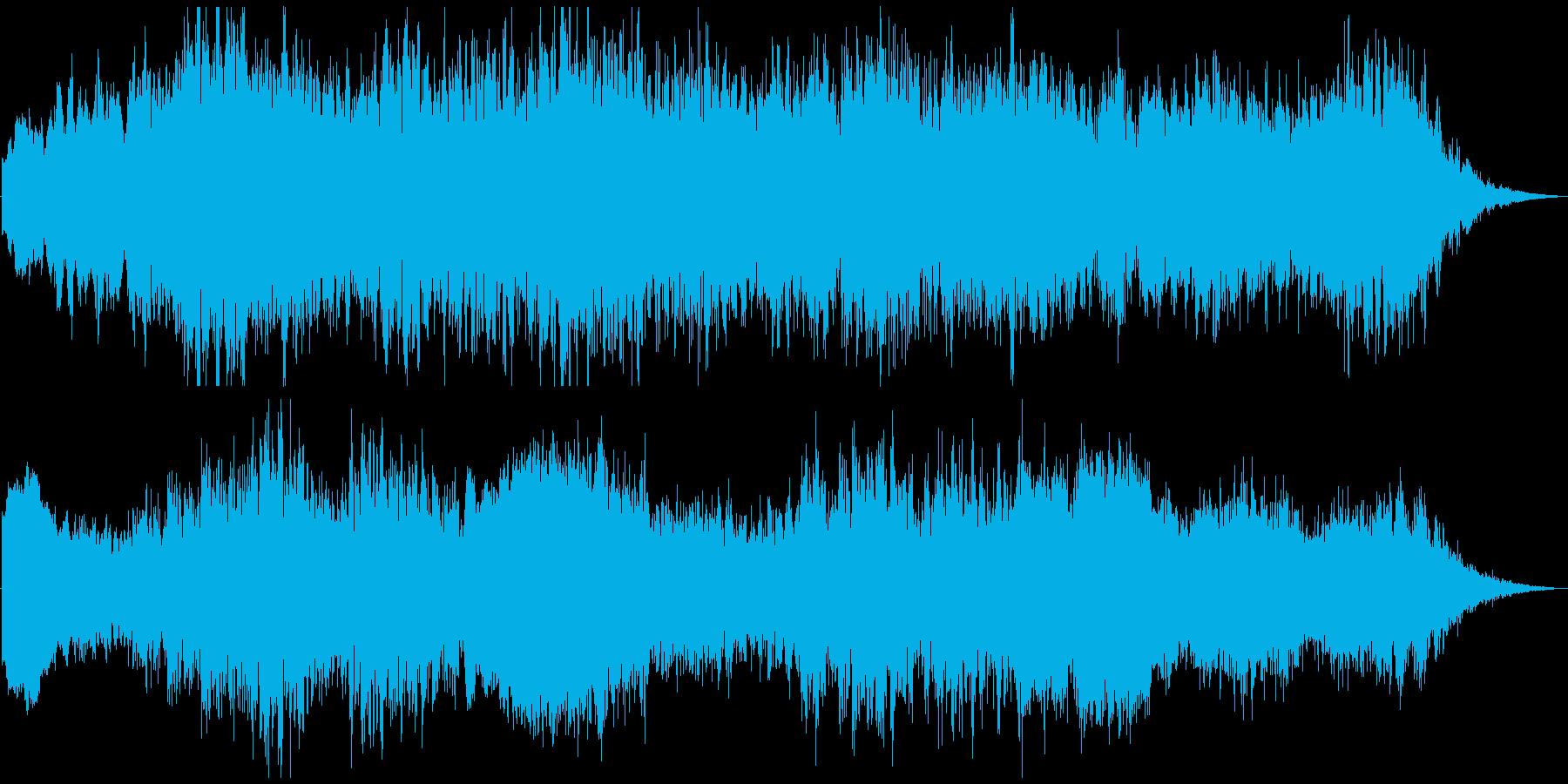 PADS 不安定な02の再生済みの波形