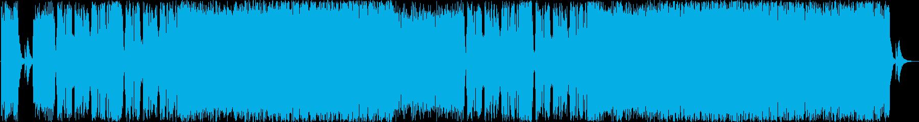ダークな和風ヘヴィメタルの再生済みの波形
